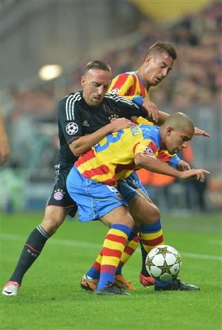 Franck Ribery, Adil Rami, Sofiane Feghouli