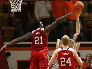 NC State Virginia Tech Basketball