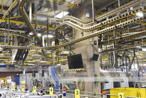 Machines for transport and sorting plant in a printing shop