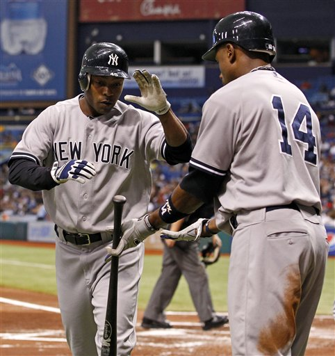 Dewayne Wise, Curtis Granderson