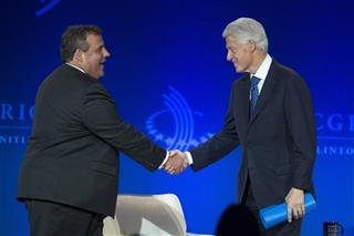 Bill Clinton, Chris Christie