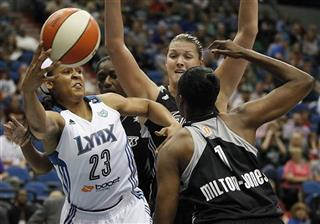 Maya Moore, DeLisha Milton-Jones