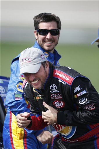 David Reutimann, Martin Truex Jr.
