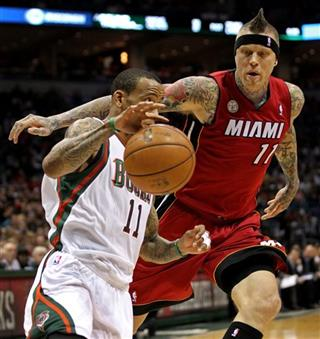 Chris Andersen, Monta Ellis