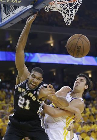 Tim Duncan, Andrew Bogut