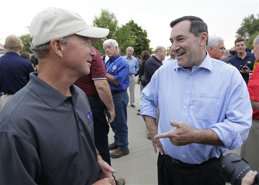 Mitch Daniels, Joe Donnelly