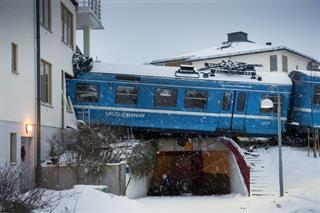 Sweden Train Crash