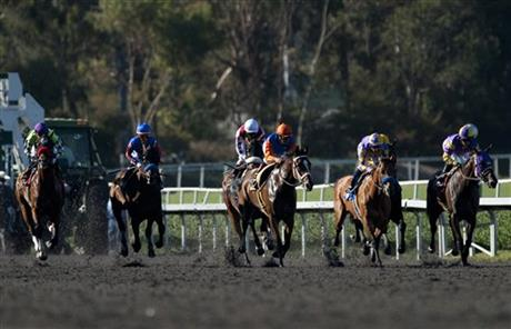 Hollywood Gold Cup Horse Race