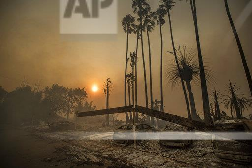 California Wildfire The Latest