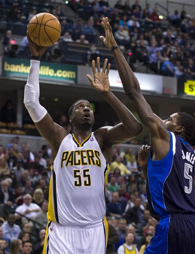 Roy Hibbert, Bernard James