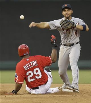Omar Infante,  Adrian Beltre