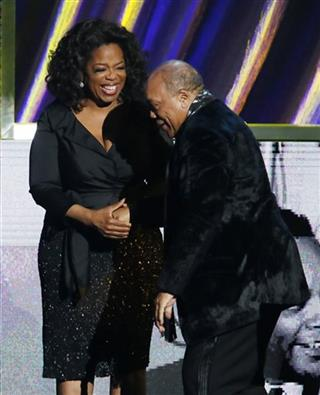 Oprah Winfrey, Quincy Jones