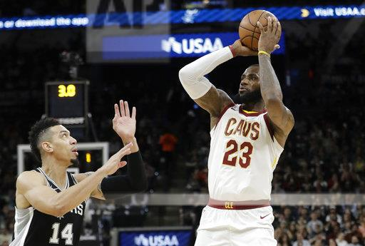Cavaliers Spurs Basketball