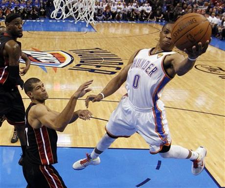 Shane Battier, Russell Westbrook