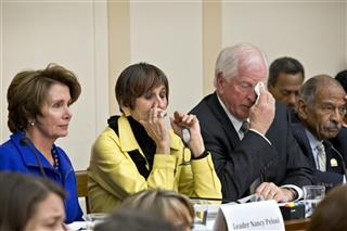Nancy Pelosi, Rosa DeLauro, Mike Thompson, John Conyers