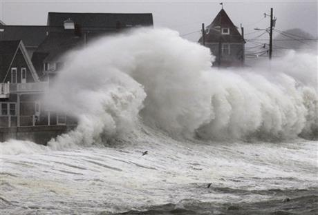 APTOPIX Superstorm Noreaster