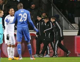 Soccer - Captial One Cup - Semi Final - Second Leg - Swansea City v Chelsea - Liberty Stadium