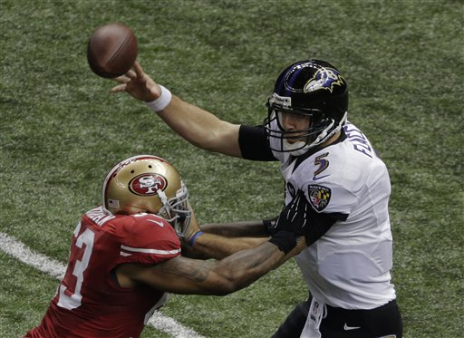 NaVorro Bowman, Joe Flacco