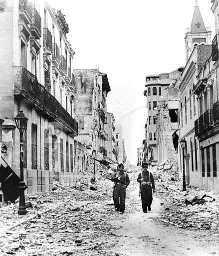 Associated Press International News Spain SPANISH CIVIL WAR