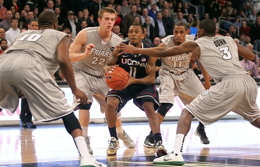 Ryan Boatright, Kadeem Batts, Ted Bancroft, Bryce Cotton, Kris Dunn