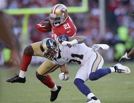 Frank Gore, Cortland Finnegan