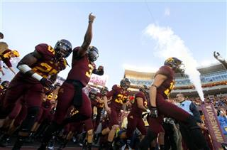 Unbeaten Minnesota football
