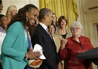 Barack Obama, Lin Dunn, Tamika Catchings