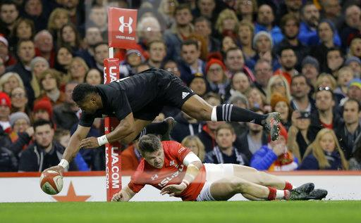 APTOPIX Britain Rugby Wales New Zealand
