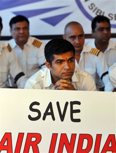 India Pilots Strike