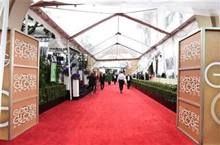 Golden Globes-Rainy Red Carpets