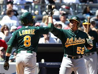 Yoenis Cespedes, Jed Lowrie