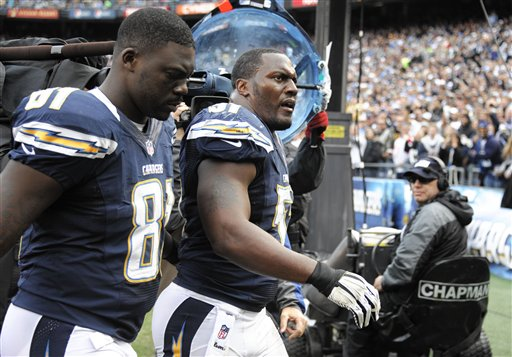 Takeo Spikes, Randy McMichael