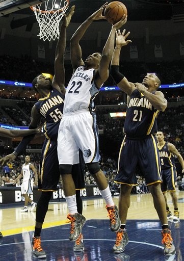 Rudy Gay, Roy Hibbert, David West