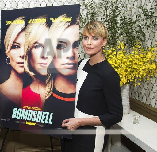 "NY ""Bombshell"" Cast Photo Call"