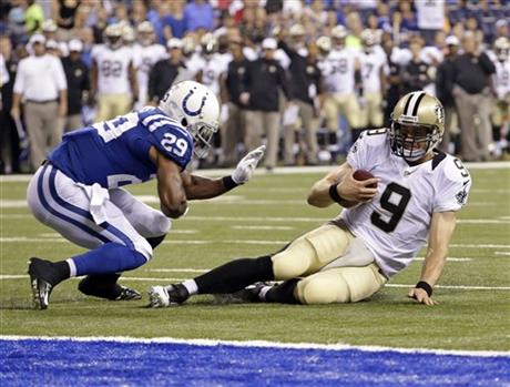 Drew Brees, Marcus Burley