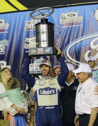 Jimmie Johnson, Chandra Johnson, Edsel Ford