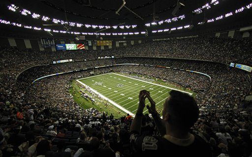 New Orleans Saints--Mercedes Benz Superdome