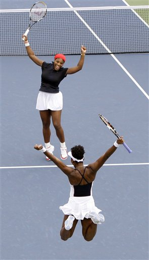 Venus Williams, Serena Williams, Anabel Medina Garrigues, Virginia Ruano Pascual