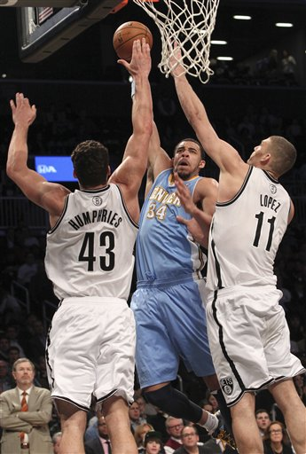 JaVale McGee, Kris Humphries, Brook Lopez