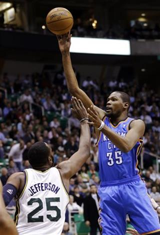 Kevin Durant, Al Jefferson
