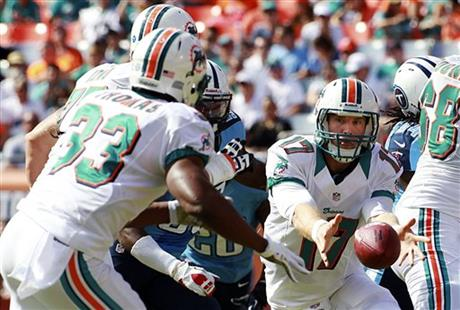 Titans Dolphins Football