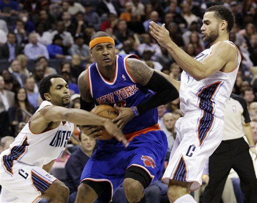 Carmelo Anthony, Gerald Henderson, Jeffery Taylor