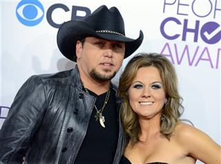 Jason Aldean and Jessica Aldean