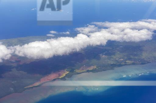 USA, Hawaii, Molokai, Aerial View