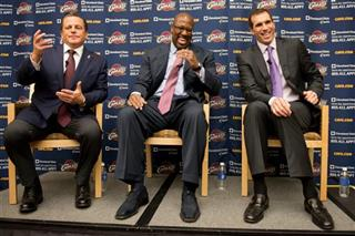 Dan Gilbert, Mike Brown, Chris Grant