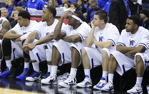 NCAA Saint Louis Memphis Basketball