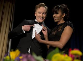 Conan O'Brien, Michelle Obama
