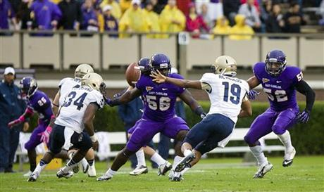 Navy East Carolina Football