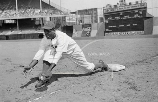 Associated Press Sports New York United States Professional baseball (National League) JACKIE ROBINSON