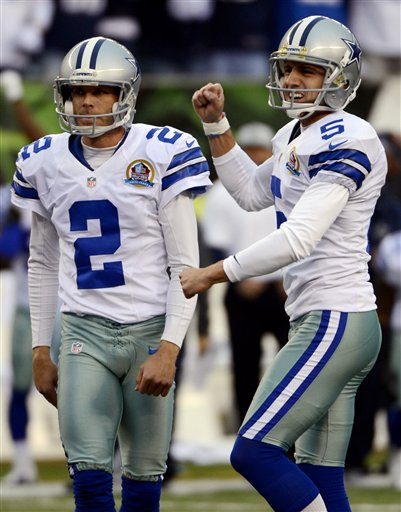 Brian Moorman, Dan Bailey